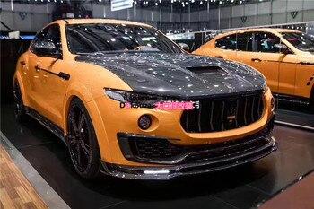 Apto para Maserati Levante Mansory grade da grade de fibra de carbono