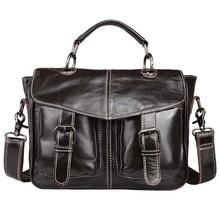 Genuine Leather Bag Casual Men Handbags Cowhide Men Crossbody Bags Men's Travel Bags Tote Ipad Mini Briefcases Bag NB021
