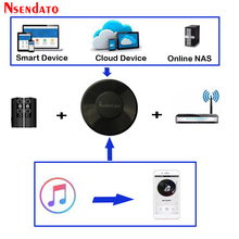 Audiocast M5 DLNA Airplay Adapter Wireless Wifi Music Audio Streamer Receiver Audio Music Speaker For Spotify Multi Room Streams