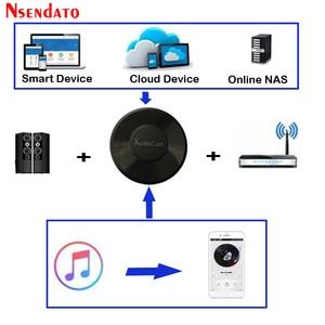 Image 1 - Audiocast M5 DLNA Airplay адаптер беспроводной Wi Fi музыкальный аудио стример ресивер аудио музыкальный динамик для Spotify мультикомнатные потоки