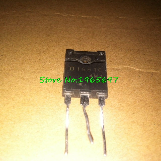 5pcs/lot D1651 2SD1651 TO-3PF New Original In Stock