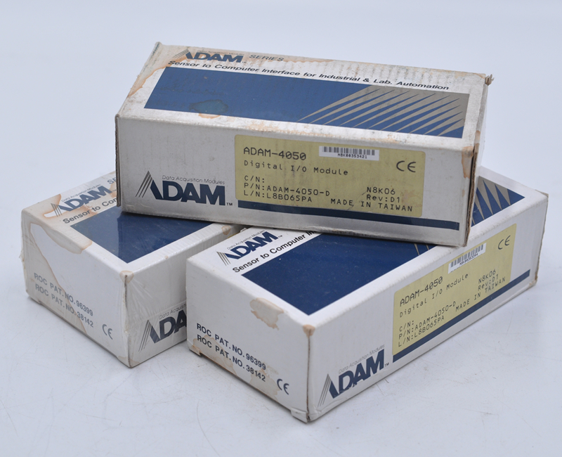 NEW ADAM  DATA ACQUISITION MODULES ADAM-4050 Adam Has 7 Digital Inputs And 8 Digital Outputs