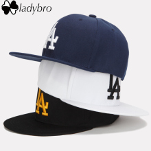 Ladybro LA Baseball Cap Men Women Snapback Cap Hat Female Male Hip Hop Bone Cap Black Cool 2016 Brand Fashion Street Adjustable
