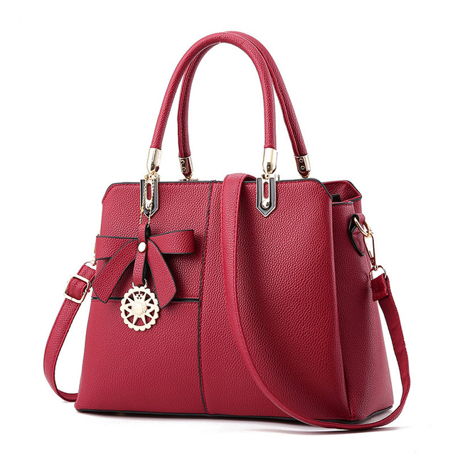 Women's bag 2017 new tide bag women leather handbags ladies  Messenger bag shoulder bag