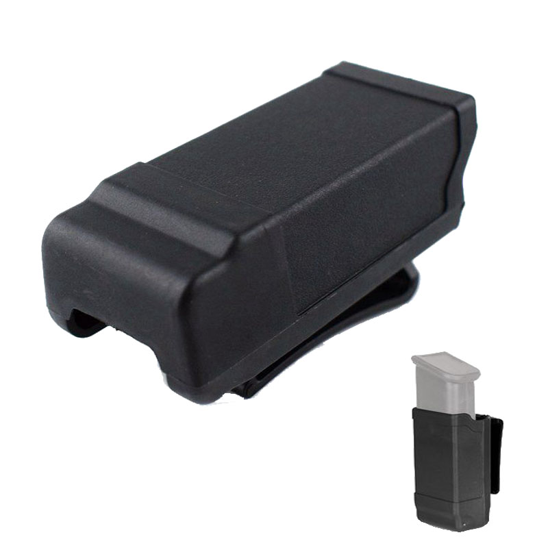 <font><b>Glock</b></font> 17 19 HK USP M9 P226 Paddle Style Tactical Magazine Pouch <font><b>Gun</b></font> Holster For <font><b>Glock</b></font> <font><b>9mm</b></font> Mags Hunting Hand <font><b>Gun</b></font> Accessories image