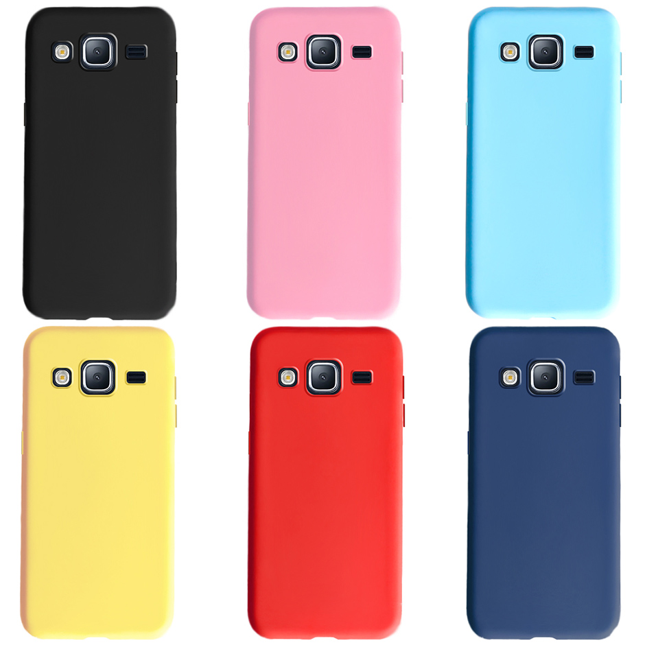 Candy Color Soft TPU Case For Samsung Galaxy J3 J5 J7 2016 2017 J5 J2 Prime J7 Core Neo Nxt J701 Matte Silicone Phone Back Cover image