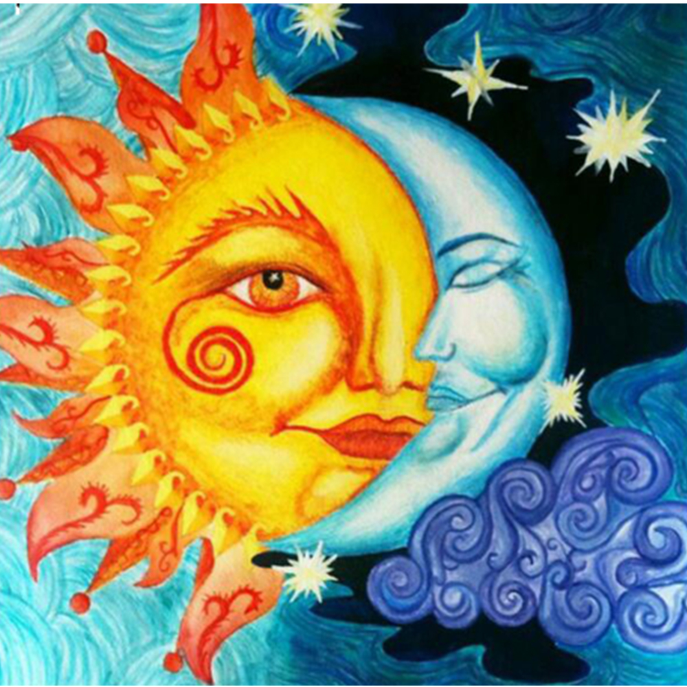 moon and sun - HD1024×1000