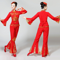 2019 hanfu dance costume Ladies Chorus Choir Performance Costume festival outfit Stage Group Chorus Performance Costume Female