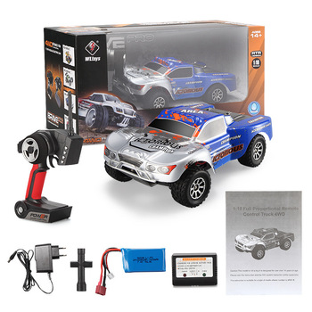 Wltoys A969-B 2.4G 4CH 4WD Shaft Drive RC Truck High Speed Stunt Racing Car Remote Control Super Power Off-Road Vehicle VS A959 2