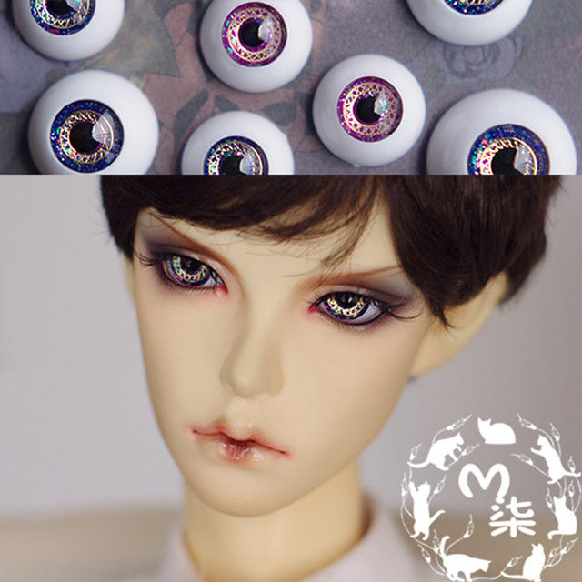 2016 New Arrival SD BJD Doll Accessories Eyeball  14MM 16MM 18MM Acrylic Eyes For BJD Dolls
