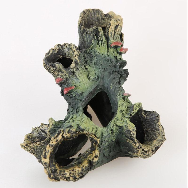 acuario de madera estilos fish t resina hollow tronco tronco de rbol hueco rbol