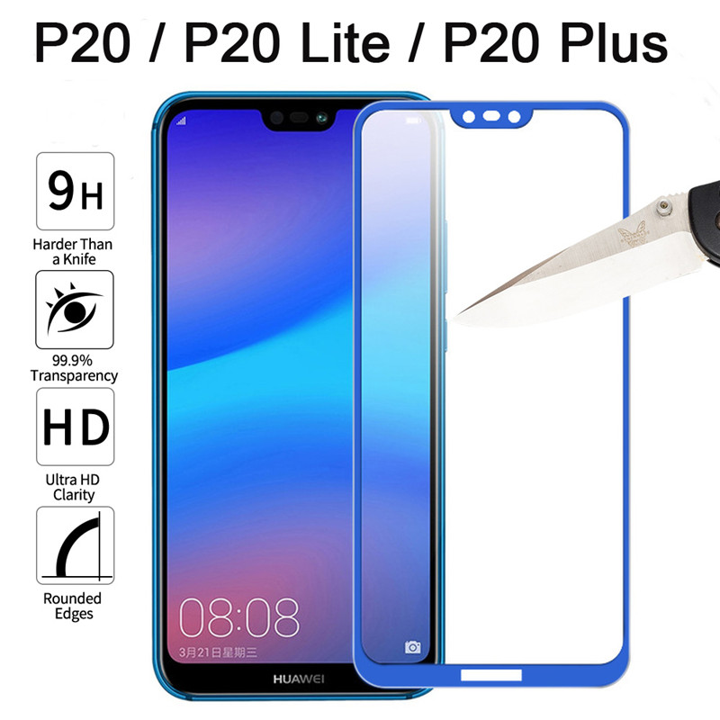 Full Cover Protective Glass For Huawei P20 Lite Pro Screen Protector Case Film For Huawei P20 Pro P 20 P30 Lite Tempered Glass