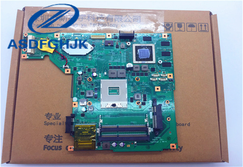 Motherboard MS-16G51 For MSI GE620DX GE620 Laptop Motherboard MS-16G5 VER 2.0 Non-Integrated DDR3 100% WORK PERFECTLY fsc 1623cvdna ver a3 industrial motherboard 100
