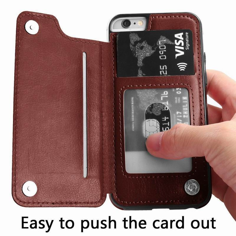 PU Leather Flip Wallet Case for iPhone 11/11 Pro/11 Pro Max 17