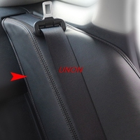 Near by Rear seat postion leather cover for Honda Civic 2016 2017 2018 10th car styling