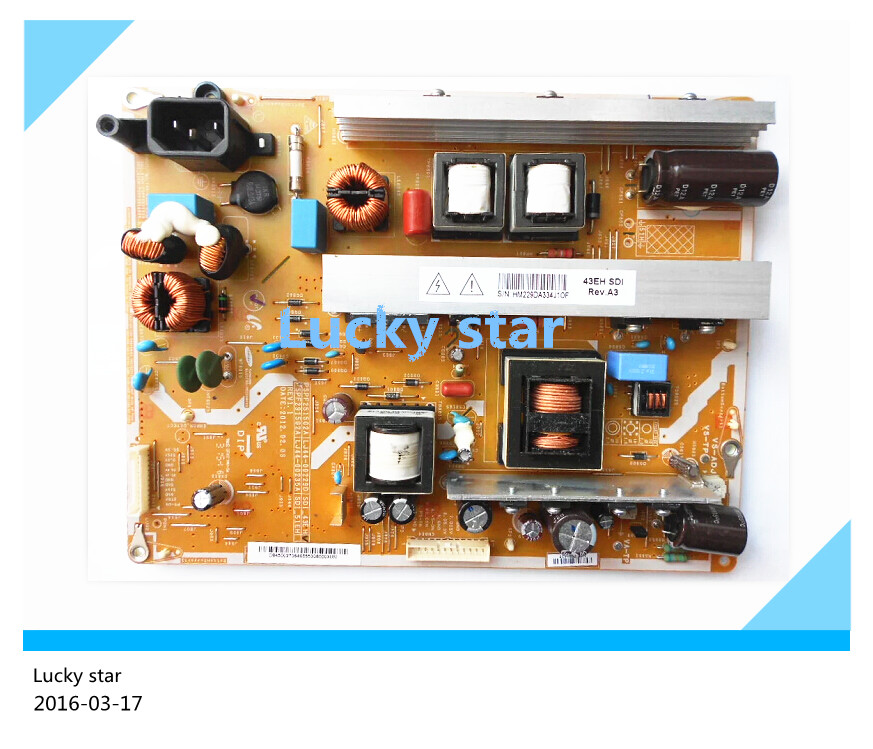 Original power supply board PSPF251502A 3D43A5000iV LJ44-00229D плед luxberry imperio 10 английский зеленый