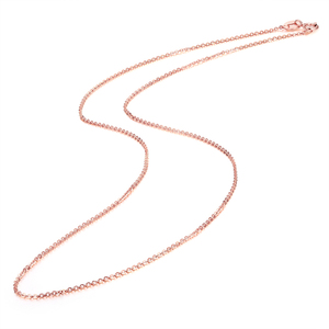 Image 5 - 本 18 18k ホワイトイエローゴールドチェーンネックレスペンダント 18 インチ au750 ジュエリーネックレス女性ギフト