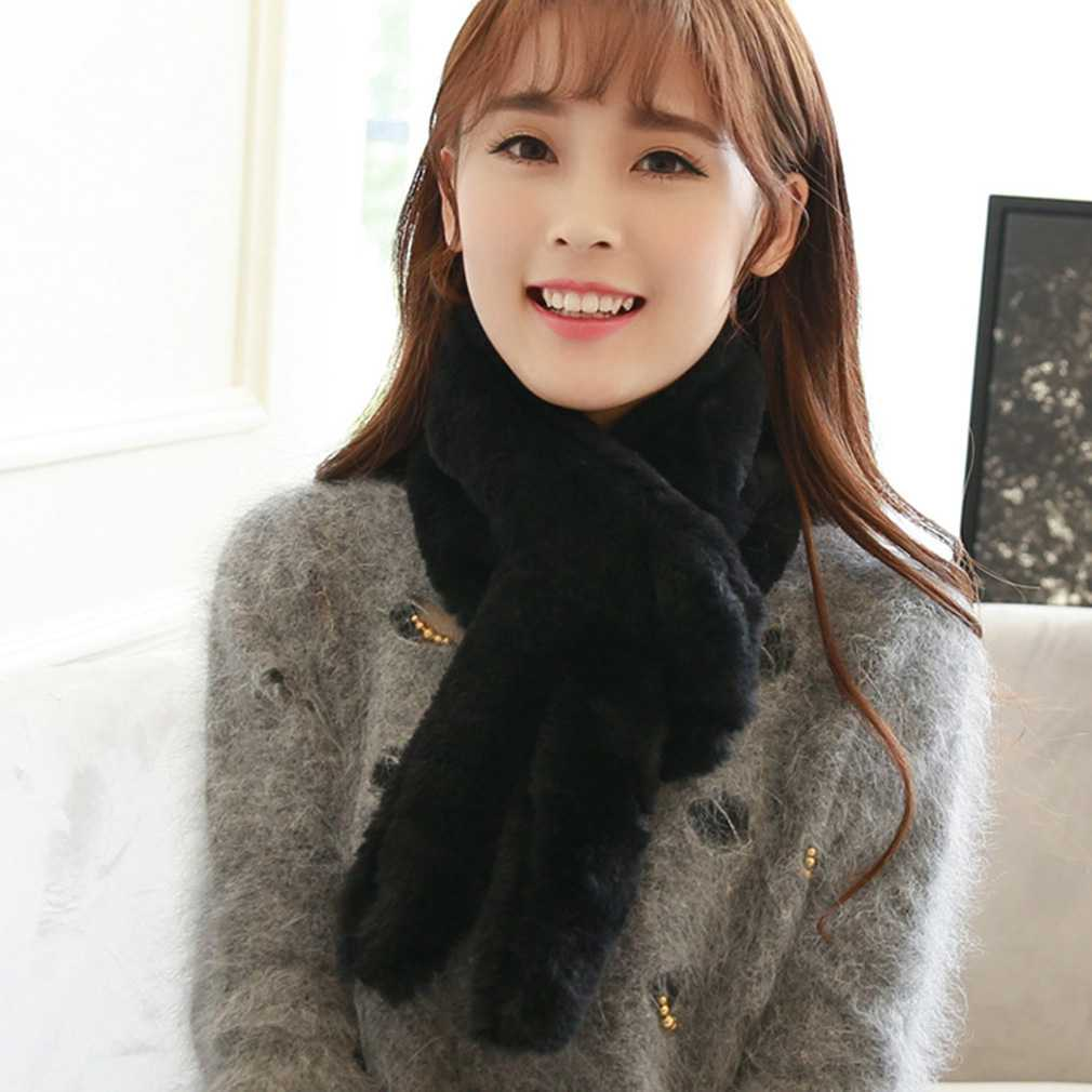 korean style women ladies solid casual neck wrap scarf. Black Bedroom Furniture Sets. Home Design Ideas