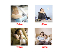100pcs/lot office bed Neck PILLOW almohada U Shape Travel Pillow Comfortable Pillows for Sleep Home for Airplane Inflatable