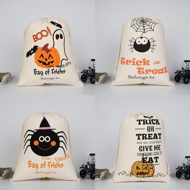 2. Glitter Pumpkin Treat Bags