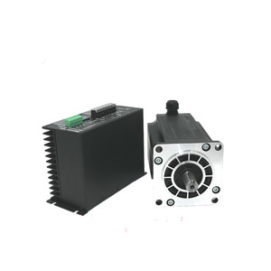 Image 2 - 1 Nema 42 20N.m Stepper Motor+Drive Kits 3Phase 6.9A 110mm NEMA42  Stepper Motor  for CNC Router 3M2280 10A+110BYGH350D