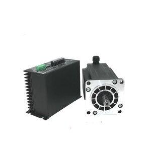 Image 2 - 1 Nema 42 20N.m step Motor + sürücü kitleri 3 fazlı 6.9A 110mm NEMA42 step Motor için CNC Router 3M2280 10A + 110BYGH350D