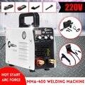 IGBT Mini 220 В 400A инвертор  сварочный аппарат для дуговой сварки MMA с горячим запуском  инструменты для сварочных работ  электромонтажные принадл...