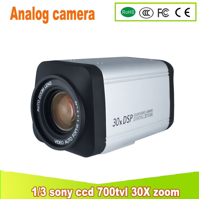 yunsye Free shipping 30X ZOOM CAMERA 1/3 SONY CCD 700TVL CCTV PTZ ZOOM CAMERA Analog camera BNC CAMERA yunsye free shipping sony fcb ex1010p 36x zoom sony camera module 36x zoom camera high resolution mini camera small ptz