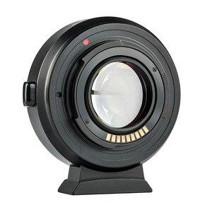 Image 2 - Viltrox EF EOS M2 AF Auto focus EXIF 0.71X réduire la vitesse Booster adaptateur dobjectif Turbo pour Canon EF objectif vers EOS M5 M6 M50 appareil photo
