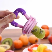 1 Piece Baby Teether Nipple Fruit Food BPA Free Safety Newborn Teethers Shape Baby Like Teether