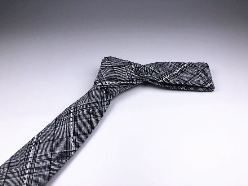 2018 New casual Fashion Exquisite High-end Atmosphere Business silk material Men/'s tie for birthday gifts