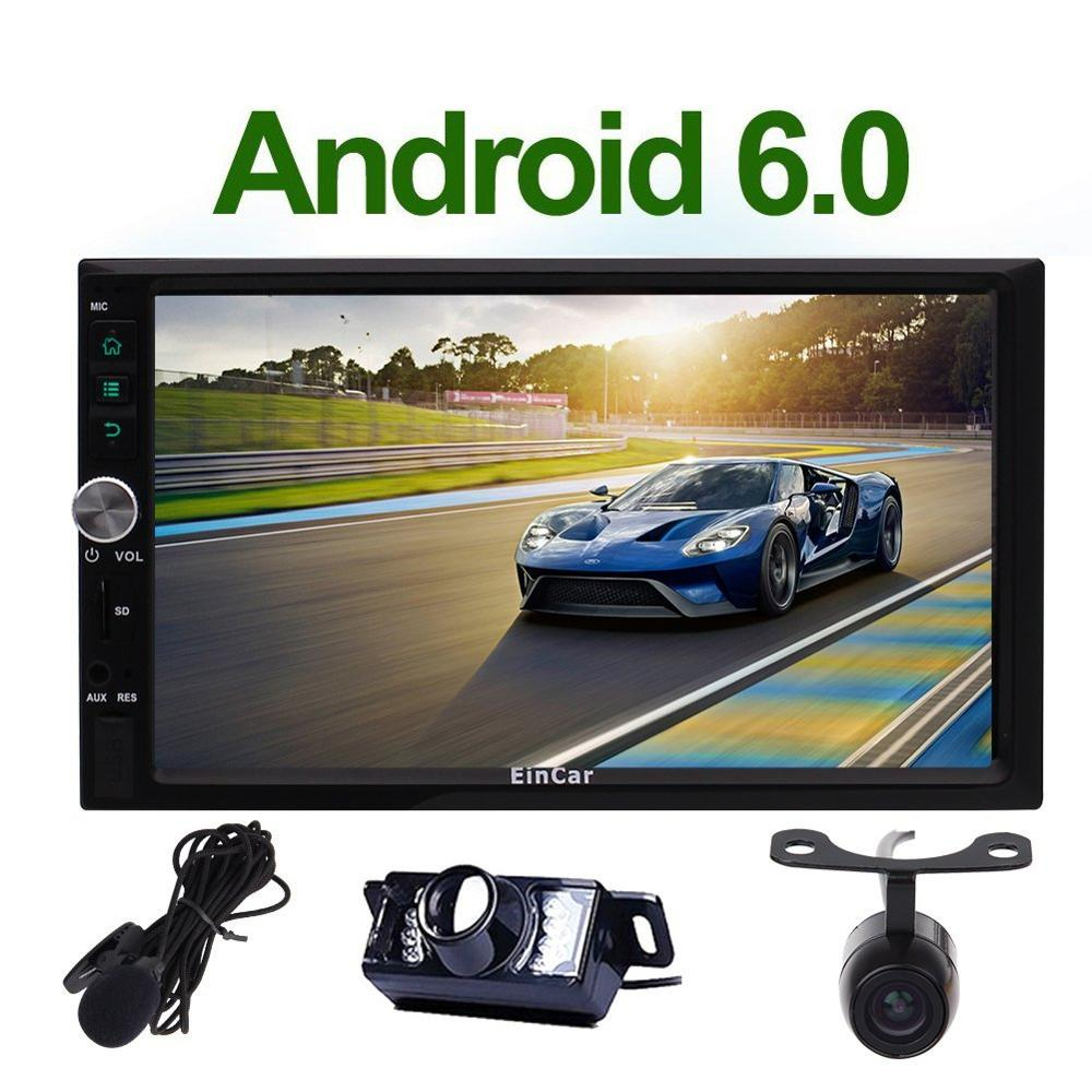 Android 6 0 Car font b Radio b font Double 2 Din In Dash Stereo Head