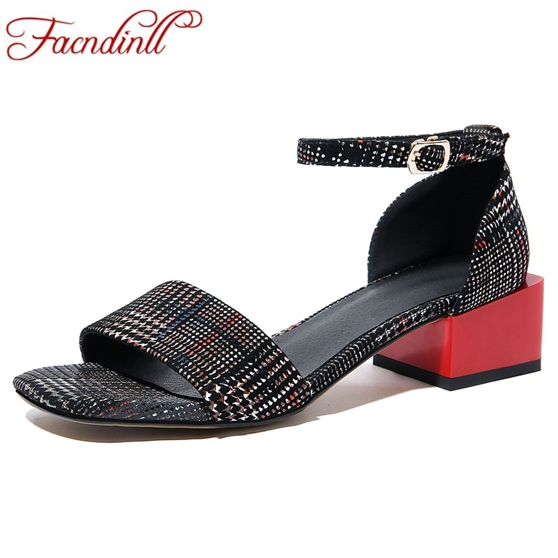 FACNDINLL new high qulaity women summer gladiator sandals fashion low heels open toe shoes woman dress party office ladies shoes facndinll high qulaity women pumps shoes