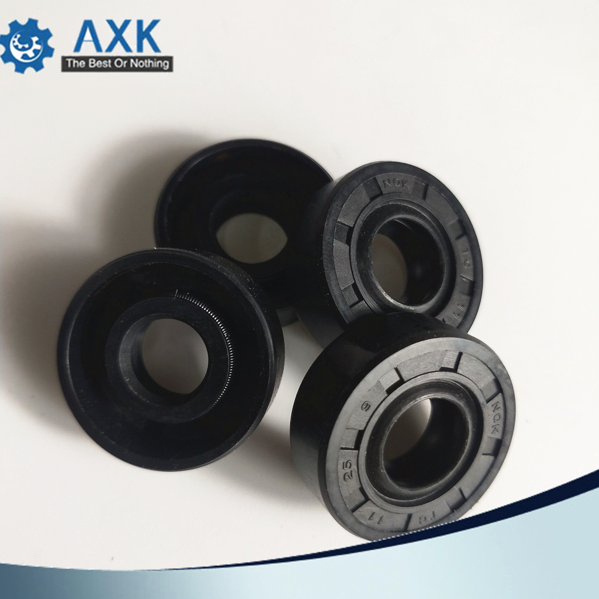 Select Size ID 16-18mm TC Double Lip Rubber Rotary Shaft Oil Seal with Spring