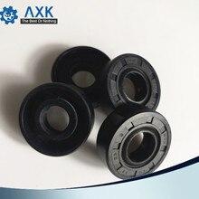 שמן חותם אטם TC 6*16*5mm (10 Pcs) נושאות אביזרי NBR Nitrile גומי סטנדרטי פיר 6 mm רוטרי שמן חותמות 6x16x5