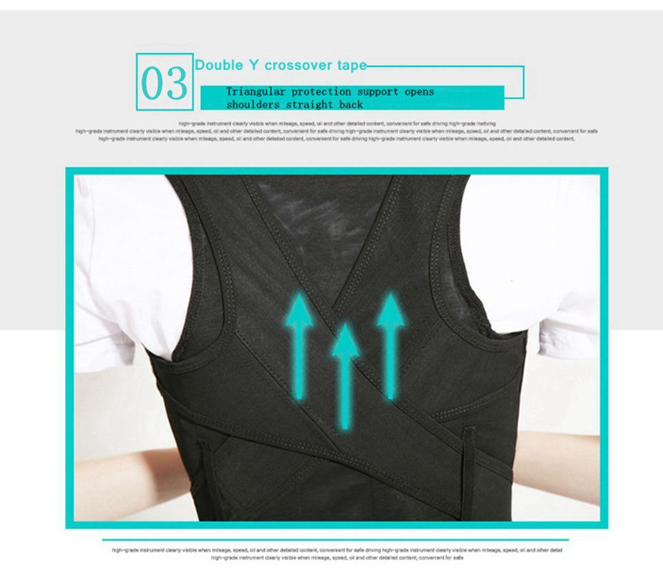 Tlinna Posture Corrector Belt with Adjustable Dual Strap Design to Get Perfect and Confident Body Posture Suitable to Wear Under or Over Clothing 16