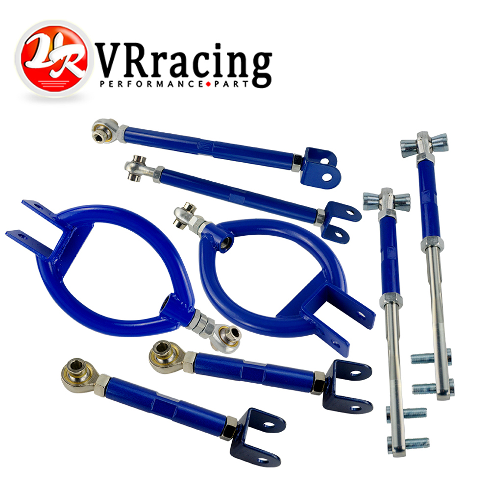 For NISSAN 240SX 89-94 S13 REAR LOWER TRACTION ROD ARMS BLUE