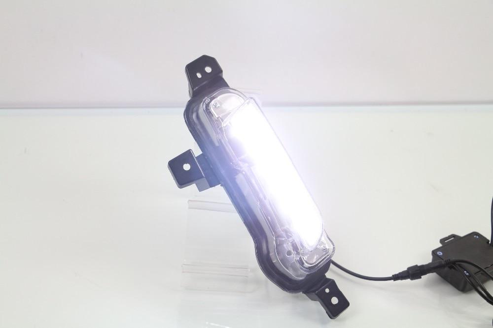 Osmrk Автомобильные аксессуары высокое качество Сид DRL дневного света для Сузуки Витара 2015 2016, с сигнала поворота, переключатель беспроводной связи