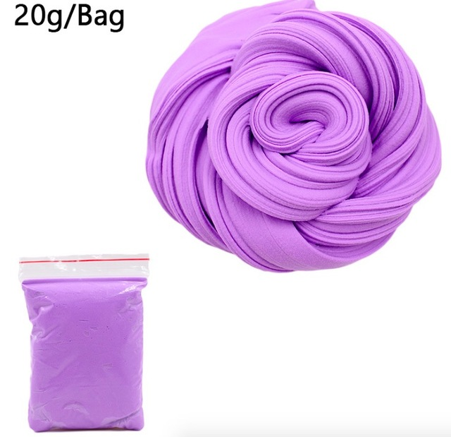 3D Fluffy Foam Clay DIY Soft Cotton Slime Charms Ball Kit No Borax Education Craft Toy Antistress Decompression Toys for Kids