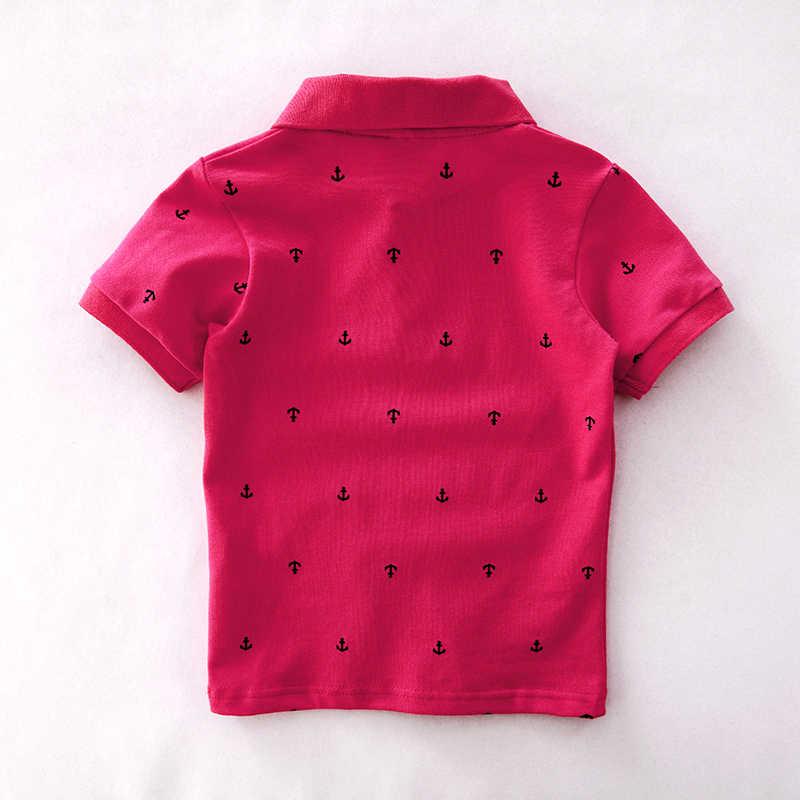 Chumhey 1-6T คุณภาพสูงฤดูร้อนผ้าฝ้ายเสื้อเด็กการ์ตูนเรือเด็กแขนสั้นเสื้อผ้า BEBE เด็กชายเสื้อเสื้อผ้าเด็กวัยหัดเดิน