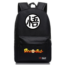 купить High Quality Japanese Anime Dragon Ball Canvas Backpack Goku Backpacks School Bag For Teenagers Casual Bag по цене 1633.49 рублей