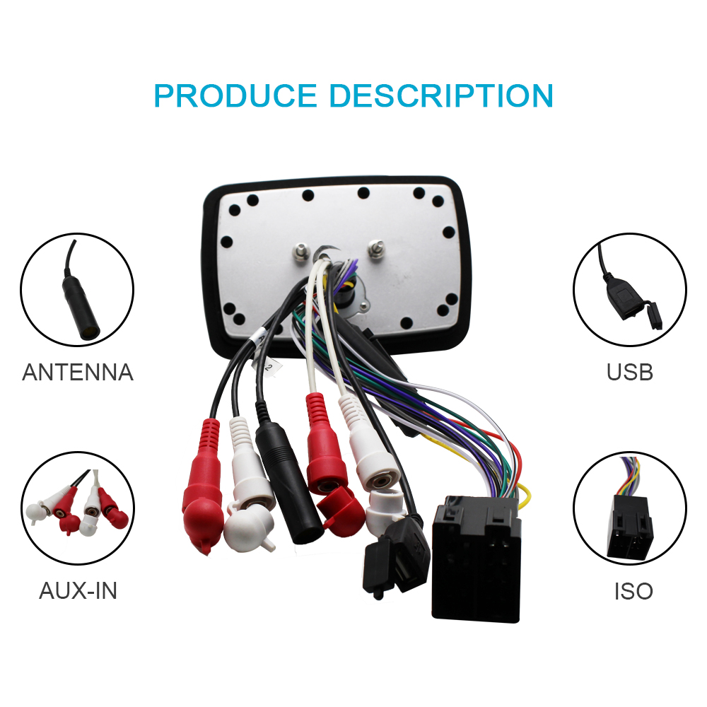 Boat Radio Wiring Marine Stereo Audio Motorcycle Rv Car Bluetooth Sound Waterproof System Heavy