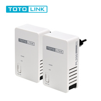 TOTOLINK Router PL200X2 KIT 200Mbps Powerline Network Adapter KIT HomePlug AV200 Ethernet Adapter PLC Adapter