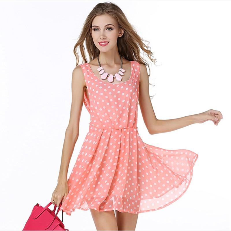 Polka Dot Summer Dress Promotion-Shop for Promotional Polka Dot ...