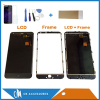 Black Color For Meizu M1 Note LCD Display Touch Screen Digitizer Assembly With Frame And Without