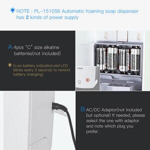 Image 4 - SVAVO 1000ml 자동 거품 비누 디스펜서 벽 마운트 적외선 스마트 센서 욕실 KitchenShower 샴푸 거품 비누 디스펜서