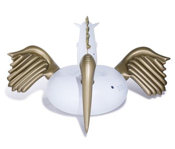 250 cm-es óriás Pegasus Egyszarvú lovaglás-úszó gyűrű - Vízi sportok - Fénykép 3