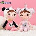 45 cm kawaii peluche animales dibujos animados niños juguetes para niñas niños Kawaii bebé juguetes de peluche Koala Panda bebé metoo muñeca