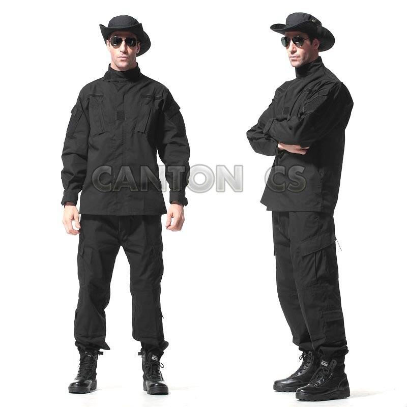 Uniforme tactique de l'armée américaine costume de Camouflage boisé uniforme de Combat militaire ensemble chemise + pantalon vêtements de chasse en plein air vêtements hommes - 2
