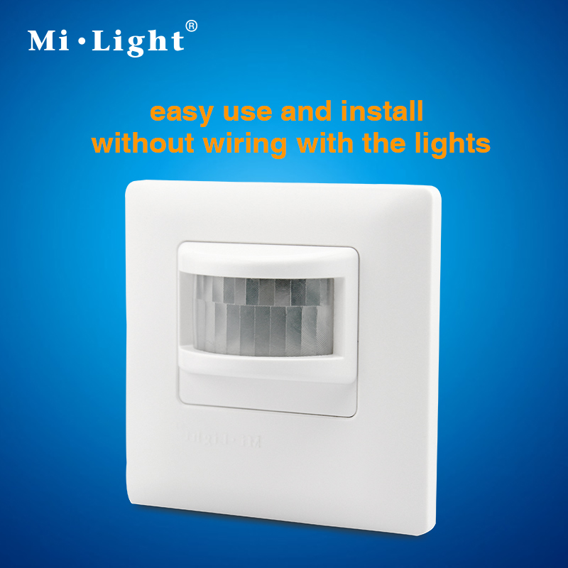 PIR wireless sensor switch;AC110/220V input;sensing distance can reach max 8m;without wiring with the lights high quality wall mounted pir motion sensor light switch max 600w load 9m max distance 1pc gs45